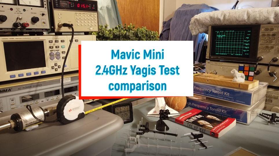 1 Pair 5.8GHz Remote Control Antennas for Mavic Mini//2//Air Signal Booster 7E